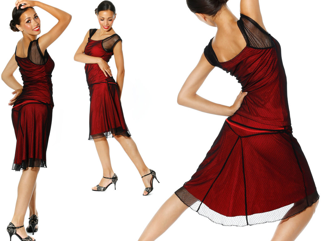 cef492bdf8093 Mava Lou's Salsa & Tango Skirt 'San Telmo'. Pure Argentina Tango!