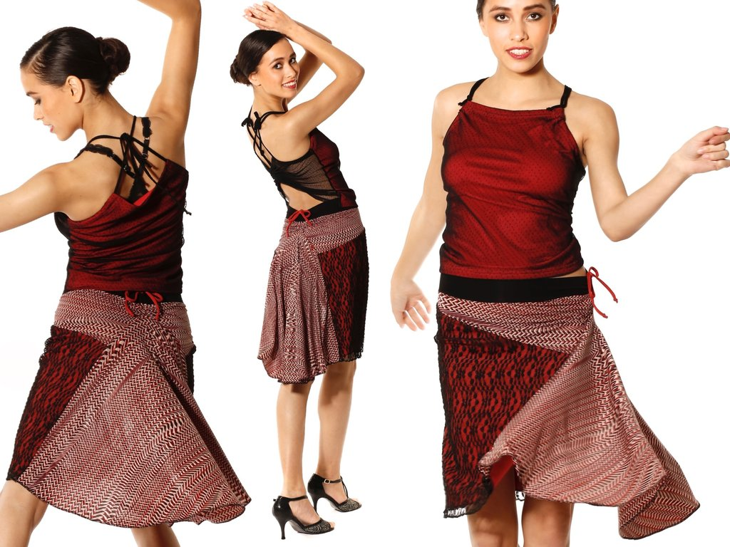 Salsa Dance Skirt 67