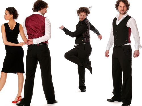 Men's dance trousers 'Damian'